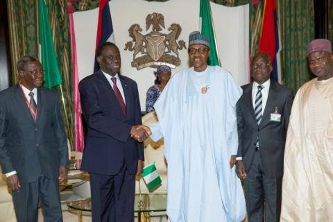 Buhari at 48th ordinary session of the ECOWAS Authority of Heads of States-Two