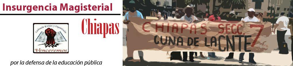 Insurgencia Magisterial Chiapas