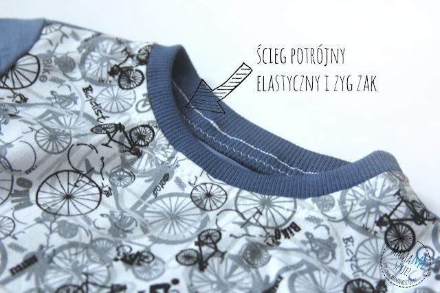 ściegi elastyczne na zwykłej maszynie, ścieg s1 a na silvercrest, wykańczanie ciuchów, sposoby wykończeń ubrań
