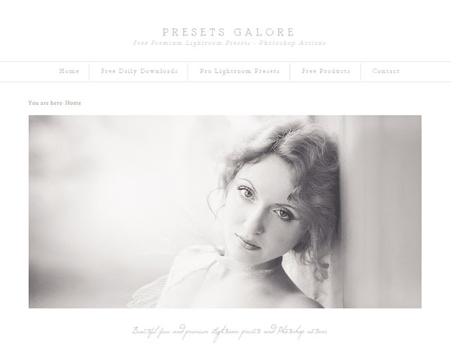 Presets Galore - 10 Sites to Get  Useful Photoshop Actions