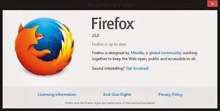 تحميل برنامج موزيلا فايرفوكس 25 مجانا Download Firefox 25 Free