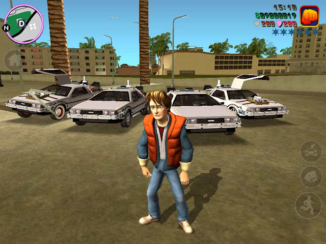 GTA VC: Back to the Future Hill Valley For PC