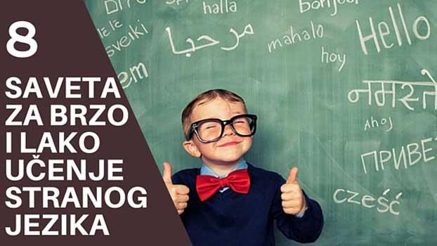 Brzo i lako učenje stranih jezika, kroz zabavu i igru
