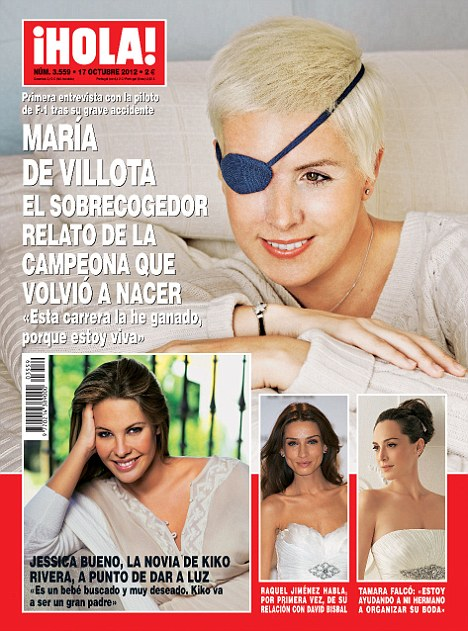 Maria de Villota Comments On Her Crash