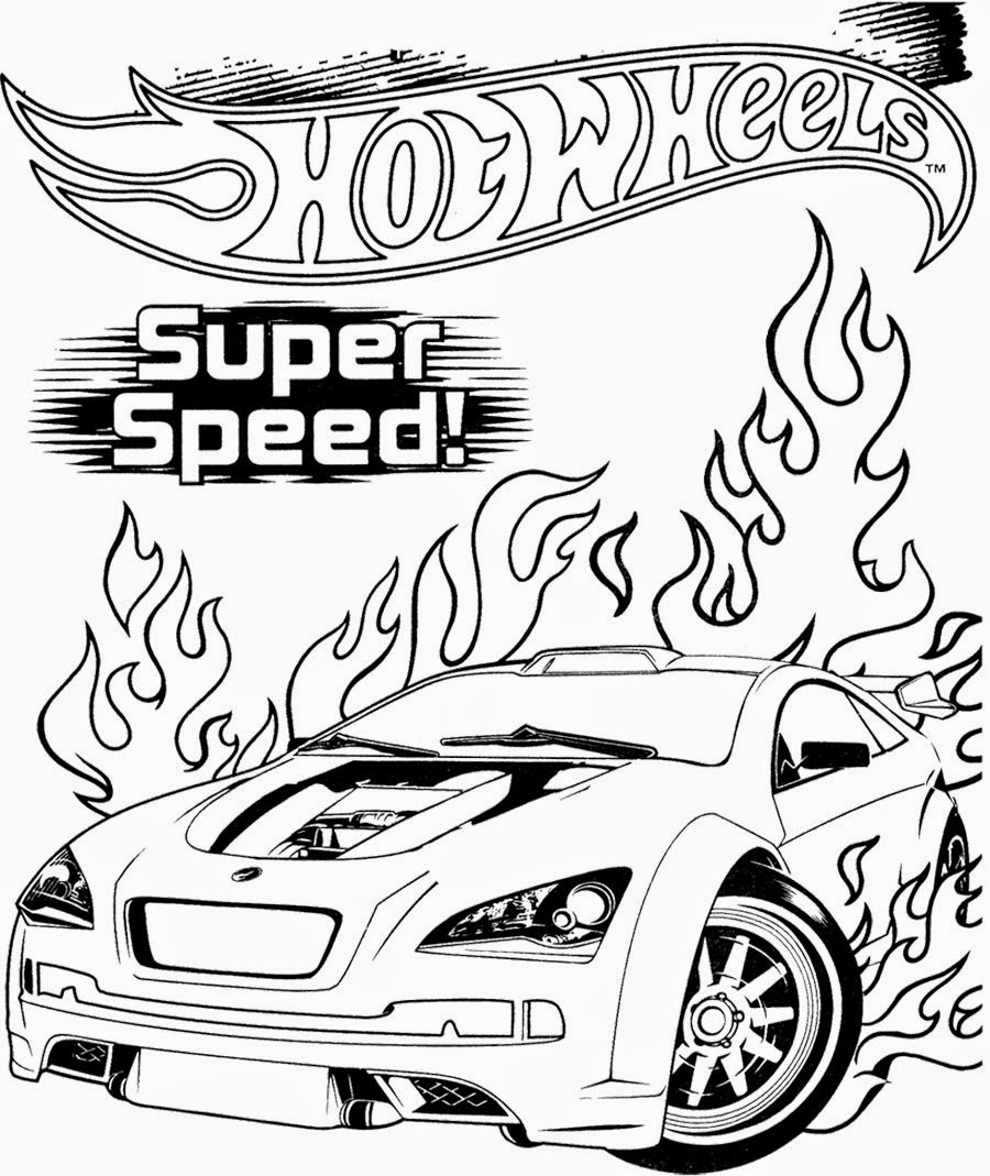 Hot Wheels Coloring Pages 82