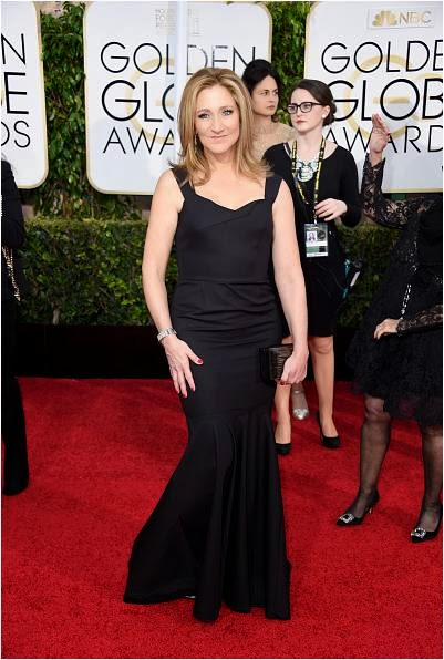 Edie Falco at the 72nd Golden Globe Awards