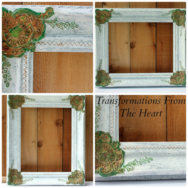hand painted ornate frame