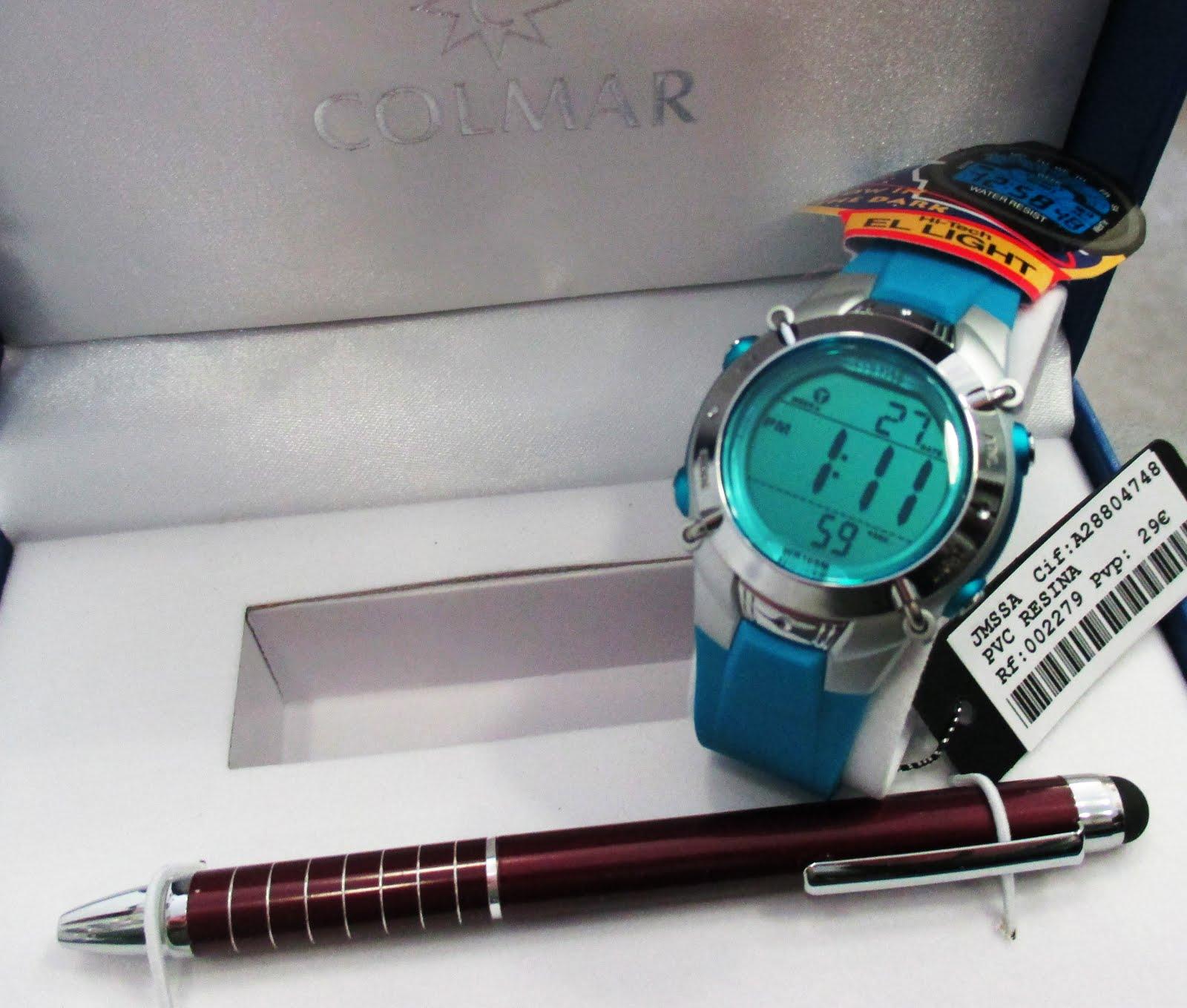 Estuche reloj-bolígrafo 29 €