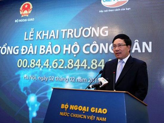 Số điện thoại hỗ trợ người Việt ở nước ngoài