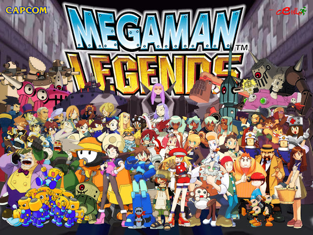 Megaman Legends lore