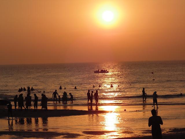Sunset on Kashid Beach