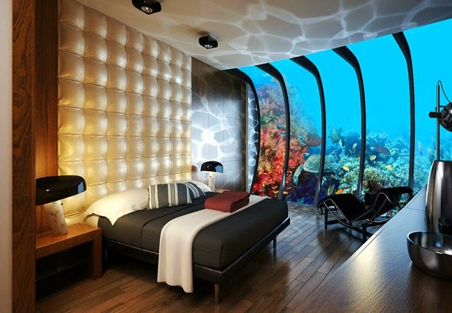 Water Discus Hotel in Dubai : Best Underwater Hotels All Around The World