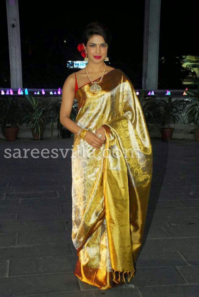 Priyanka Chopra At Udhay and Shirin's Wedding Reception
