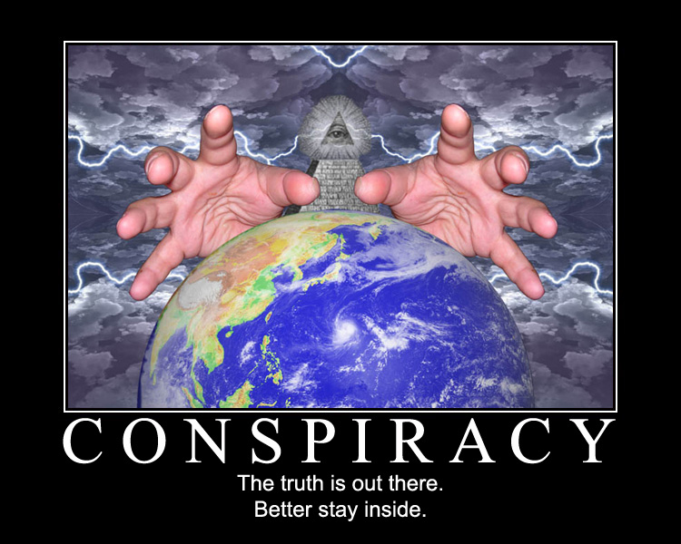 Conspiracy 102 Bringing you the latest Conspiracy Theories!