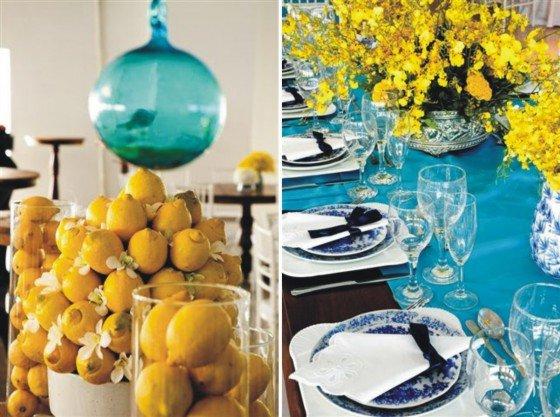 decoracao casamento azul turquesa e amarelo:fará seu casamento em azul turquesa com amarelo e um tons de marrom e