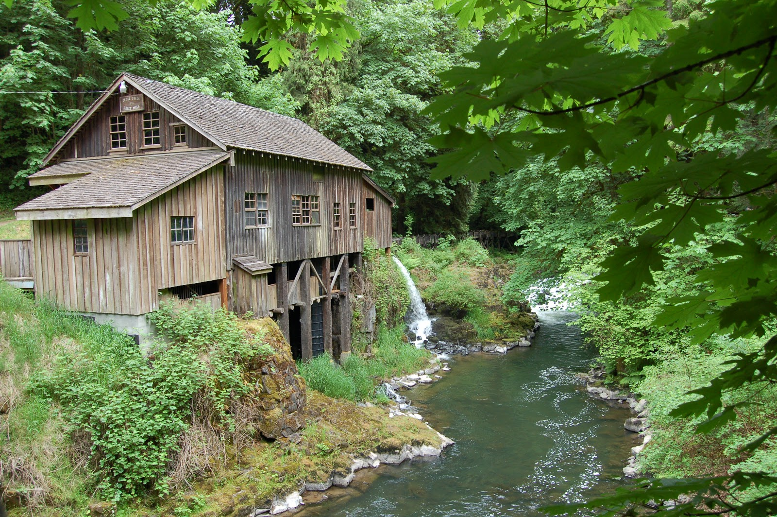 secondhand goods field trip cedar creek grist mill