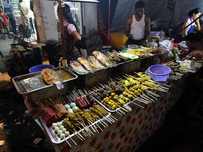 Yangon Street Food at Maha Bandoola