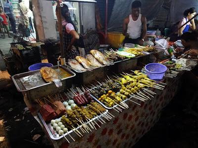 Yangon Street Food at Maha Bandoola