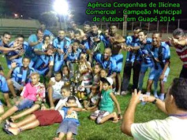 Comercial campeão de futebol em Guapé
