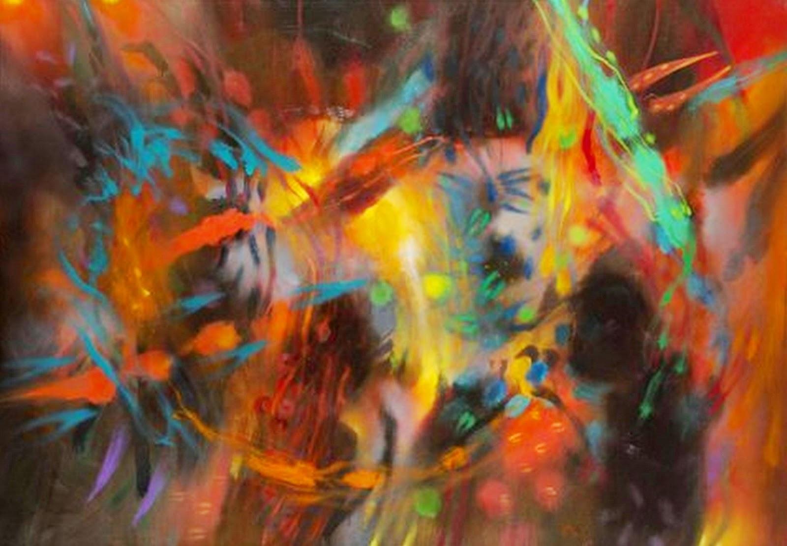 Pintura moderna y fotograf a art stica exposicion for Imagenes de cuadros abstractos modernos para imprimir