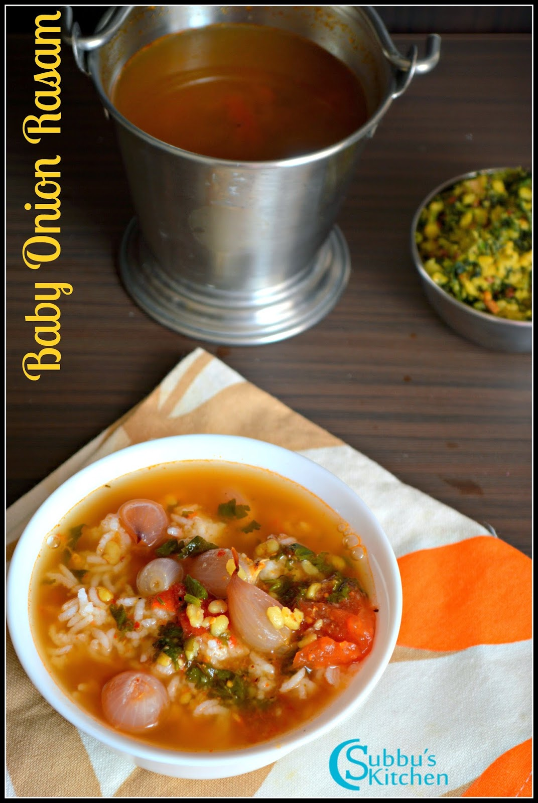 Vengaya Rasam Recipe   Onion Rasam Recipe