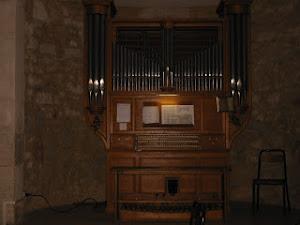 L'orgue de l'église St Léon