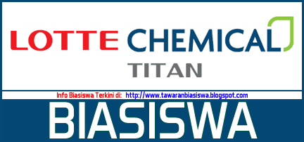 Biasiswa Lotte Chemical Titan