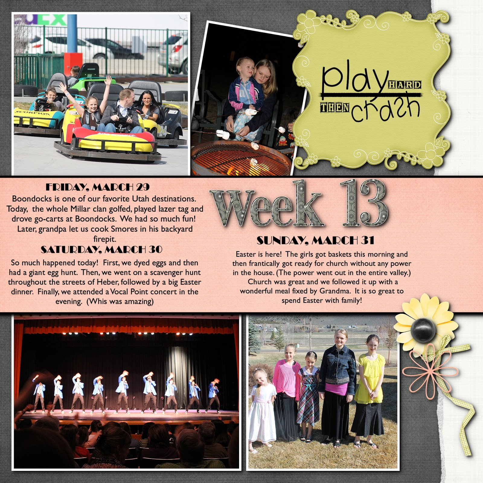 The westover family blog week 13 for The westover