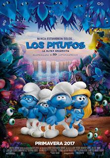 Poster de Los Pitufos en la Aldea Perdida / Los Pitufos 3: La Aldea Escondida