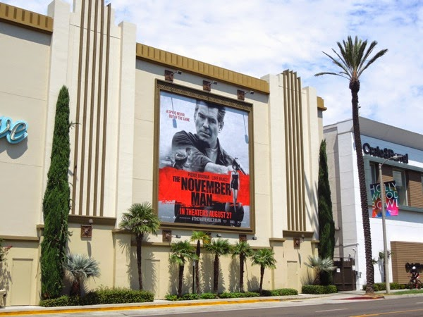 November Man movie billboard