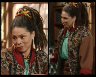 Cosby Show Huxtable fashion blog 80s sitcom Dean Hughes Rosalind Cash