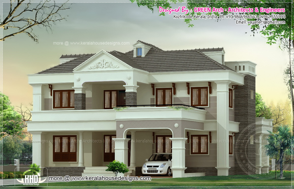 First Floor House Elevation Designs : Bungalow first floor elevation joy studio design gallery