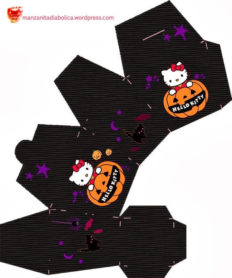 Hello kitty loft hello kitty halloween treat boxes - Hello kitty halloween ...