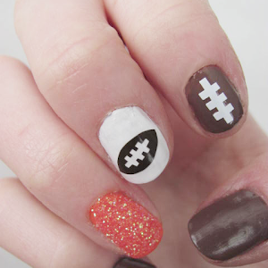 Diy nail art decals silhouette file miss audrey sue nail art lets go broncos prinsesfo Image collections