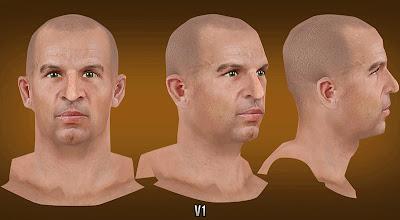 NBA 2K13 Jason Kidd Cyberface without beard