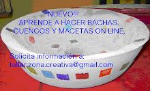 BACHAS, CUENCOS Y MACETAS ON LINE