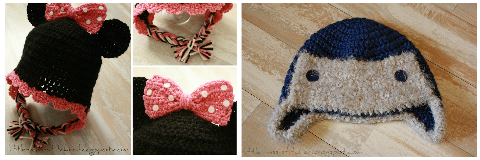 http://little-miss-stitcher.blogspot.com/p/crochet-for-kids.html