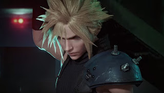Cloud Strife, the main protagonist of the game.