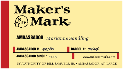 Makers Mark Ambassador