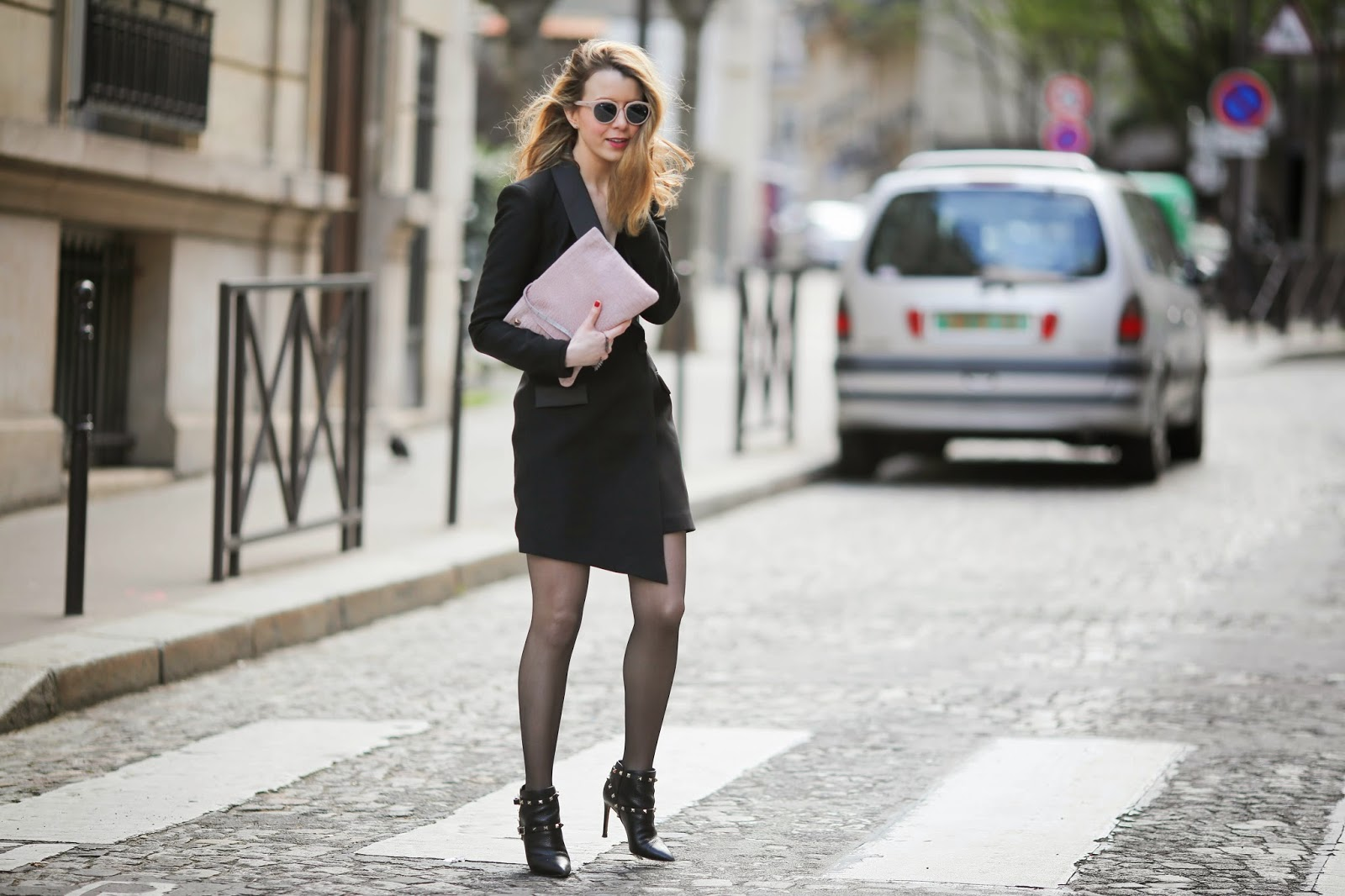 pearl and rubies, high fashion, valentino, gaydamak, streetstyle, paris, roc eyewear