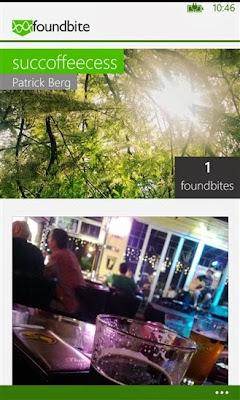 Foundbite for Windows Phone