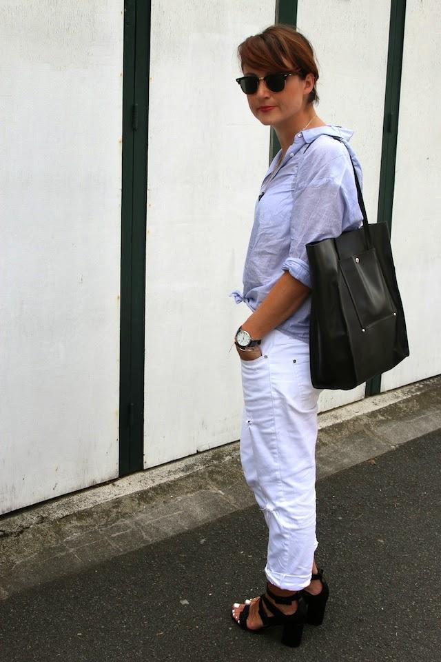 soldes, mango, zara, juste juliette, cabas noir, pretty wire, rayban, clubmaster, blog mode lille, fashion blogger