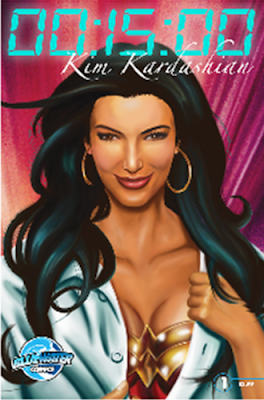 Kim Kardashain Comic Book