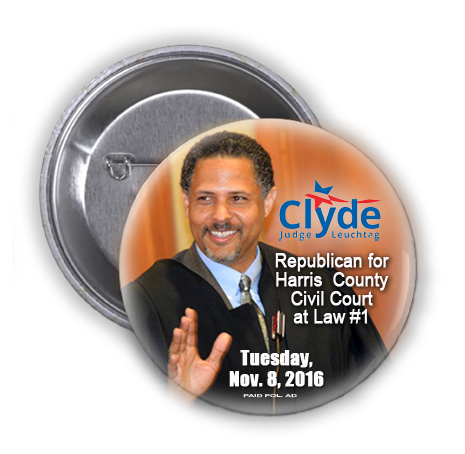 JUDGE CLYDE LEUCHTAG IS ASKING FOR YOUR VOTE ON TUESDAY, NOVEMBER 8, 2016