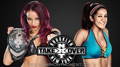 WWE NXT TakeOver Brooklyn Sasha Banks vs Bayley