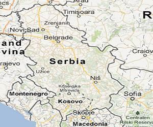 Serbia_google_map