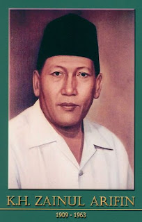 gambar-foto pahlawan kemerdekaan indonesia, KH.Zainul Arifin