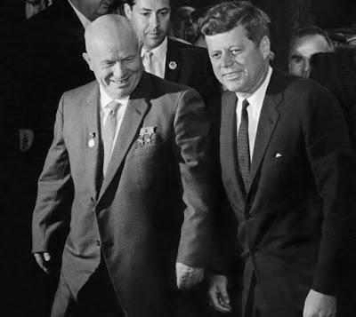 Rencontre entre kennedy et khrouchtchev