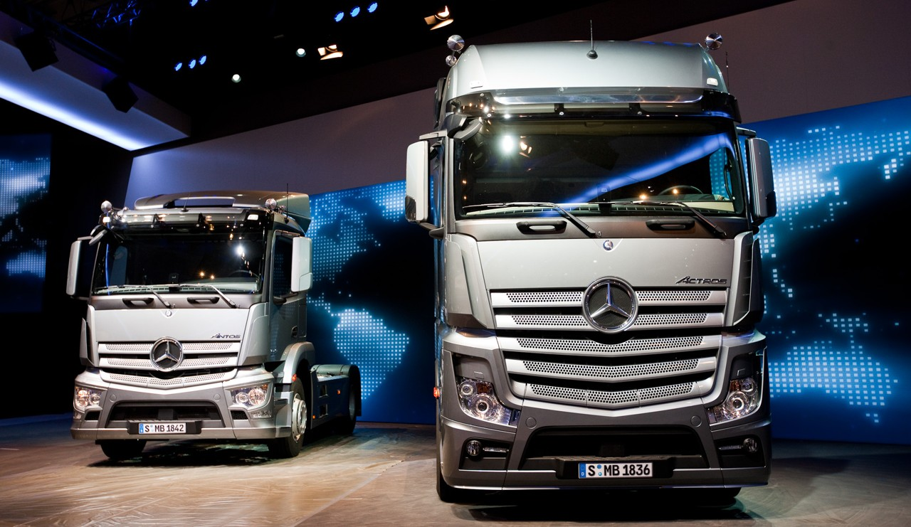 Autominder artros new model truck the new aerodynamic cap for 2014 mercedes benz truck