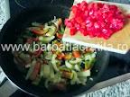 Oua cu legume preparare reteta